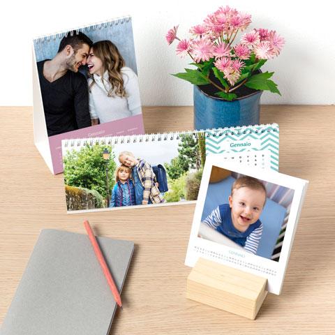 calendari con le foto dei tuoi ricordi più cari