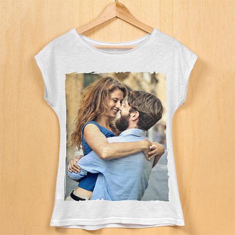 maglietta con foto
